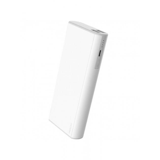 Универсальное зарядное устройство ROCK Cola Power Bank 10000 mAh White (6950290690303)
