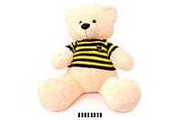 Мягкая игрушка Мишка в вязаной кофте 1335\70, сидячий 70 см.
