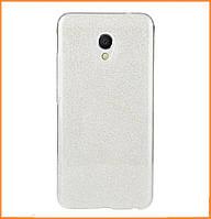 Чехол-накладка TOTO TPU Case Rose series 2 для Meizu M5s / M5 mini Silver