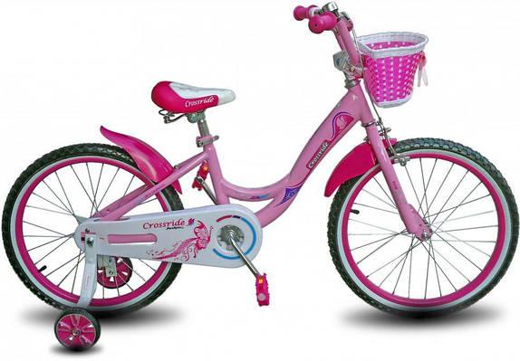 """Детский велосипед CROSSRIDE VOGUE and CLASSIC  BMX 20""""  Розовый/Белый"""