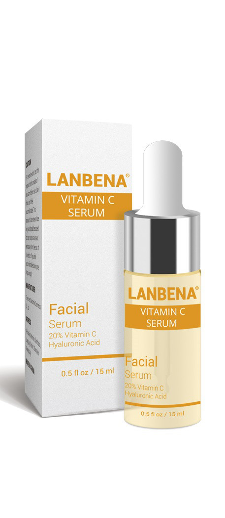 Коктейль для сияния кожи Lanbena Vitamin C serum, 15ml