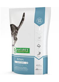 Nature's Protection Kitten Сухой корм для котят, 400г