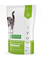 Nature's Protection Urinary Formula-S Сухой корм для кошек с чувствительной мочеполовой системой, 400г