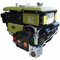 Дизельный двигатель с водяным охлаждением Кентавр ДД195ВЭ (12 л.с., стартер)