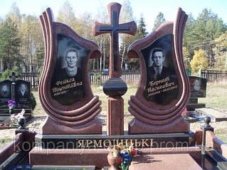 Двойные памятники из гранита