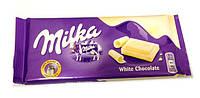 Белый шоколад Milka White 100гр.