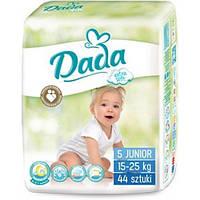 Подгузники Dada 5 junior ( 15-25 кг) 44 шт