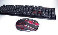 Новая беспроводная клавиатура + мышка KEYBOARD HK-6500