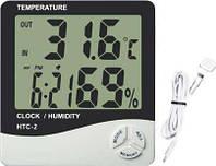 Комнатный электронный термометр-гигрометр HTC - 2