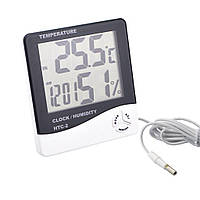 Прибор для контроля температуры и влажности в помещении HTC - 2