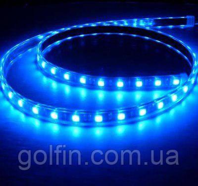 Светодиодная лента 5050 60LED IP65 БЛИСТЕР (синий)  1м