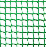 Клевер Сетка пластиковая 'забор' яч. 10х10 мм, рул. 1х20 м (зеленая)