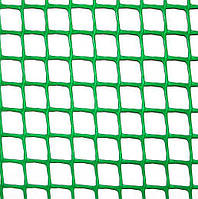 Клевер Сетка пластиковая 'забор' яч. 20х20 мм, рул. 1х20 м (темно зеленая)
