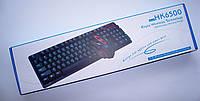 Беспроводная клавиатура + мышь на батарейках ААА KEYBOARD HK-6500