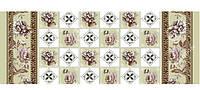 HONGDA Скатерть нетканая Роза-шахматка 1.4х20х0.17 м