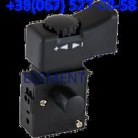 Кнопка болгарки DWT 125 (c регулятором)