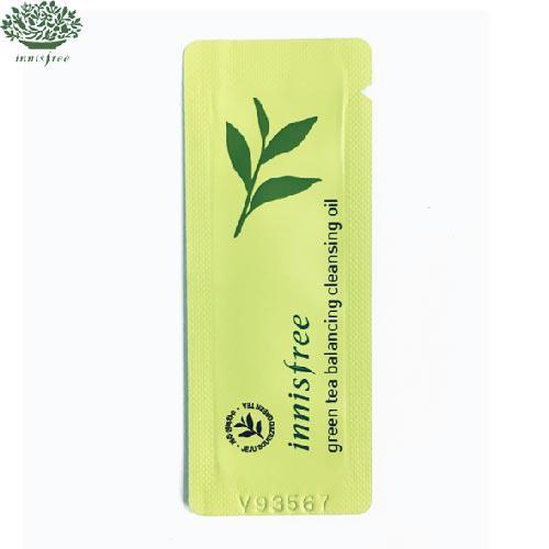 Innisfree Green Tea Balancing Cleansing Oil Гидрофильное очищающее масло 1ml