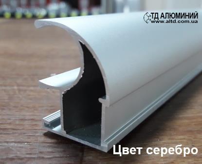 Профиль для шкафа купе | Вертикальная ручка 114