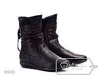 Ботинки женские ZDW Black ростовка