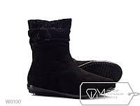 Ботинки женские ZDW Bow Black ростовка