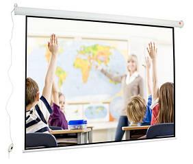 Экран для проектора с электроприводом 200x150cm Avtek Wall Electric 200 (1EVEE5)