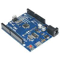 Arduino UNO R3 ATmega328P, CH340G, MicroUSB