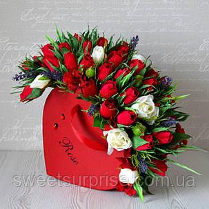 """Букет из конфет для любимой """"Романтика"""", фото 2"""