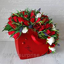 """Букет из конфет для любимой """"Романтика"""", фото 3"""
