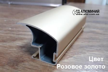 Профиль для шкафа купе   Вертикальная ручка А107