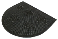 Welcome Резиновый коврик Полукруг (клен) (45х55 см)
