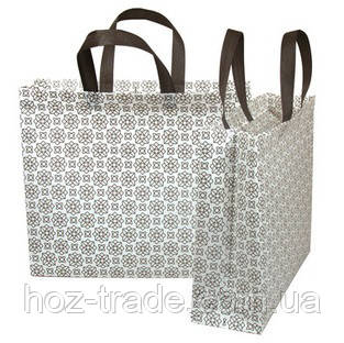 f963e68a3fbd Эко сумка ламинированая хозяйственная с замочком (орнамент) на плечо -  Интернет-магазин