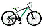 """Горный велосипед SPARTO TS 7626  26"""",17""""  Черный / Зеленый"""
