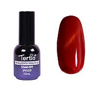 Гель-лак №003 (оранжево-красный магнитный) кошачий глаз 10 мл Tertio