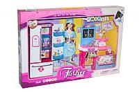 Кукла доктор ветеринаршарнирная 29 см с аксессуарами,набор доктора, фигурки, мебельJX100-29, коробка