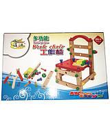 Развивающая игрушка деревянный стульчик B24488 собери сам, в короб. 35*23*6см Киев