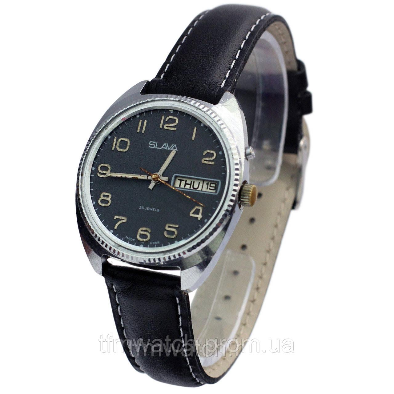Наручные часы Слава 26 камней - Магазин старинных, винтажных и антикварных  часов TFMwatch в России 8668e06cf81