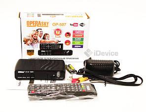 Тюнер Т2 Operasky OP-507 USB, Wi-Fi, фото 2