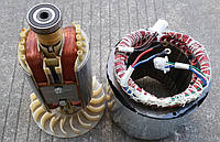 Статор бензогенератора 2-3,5кВт. (услуги по перемотке))