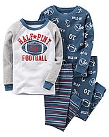 Комплект детских пижам для мальчика Carters Спорт, Размер 8, Размер 8