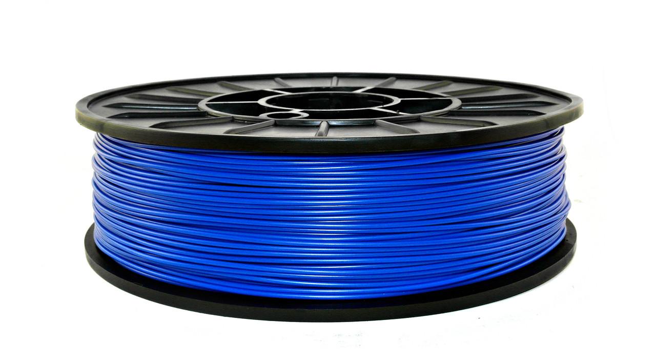 Нить ABS Premium (АБС) пластик для 3D принтера, Синий (1.75 мм/0.75 кг)