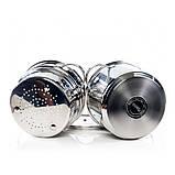 Кастрюля для варки макарон Fissman Gabriela 4,5 л. (Нержавеющая сталь, стеклянная крышка), фото 4