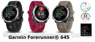 Garmin представила умные спортивные часы Forerunner 645 Music