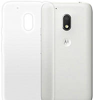 Чехол для телефона GlobalCase (TPU) Extra Slim Motorola Moto G4 Play (светлый) (1283126474507)