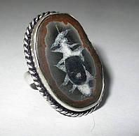 """Красивый перстень с септарией  """"Зодиак-2"""", размер 18,2  от студии LadyStyle.Biz, фото 1"""