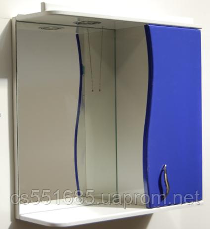 Зеркало для ванной комнаты Фигурное ( 55 см) Galaxy (Галакси)