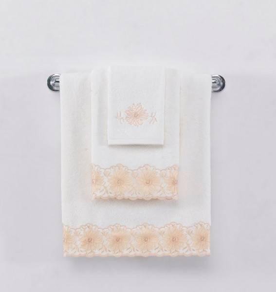 Полотенце Soft Cotton MELODY 85*150 Белый, 85*150