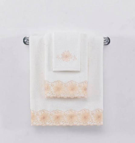 Полотенце Soft Cotton MELODY 85*150 Белый, 85*150, фото 2