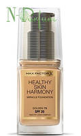 Крем тональный для лица Max Factor Healthy Skin Harmony Miracle Foundation, 55 бежевый 30 мл
