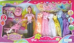 Кукла DEFA в коляске с набором (в коробке), фото 2