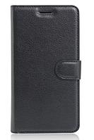Кожаный чехол-книжка для Lenovo Vibe P2 черный